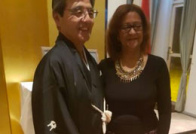 De Japanse Ambassadeur en de Vice Voorzitter van de KBN.