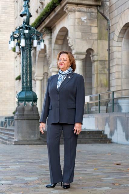 Carmelita Reeberg Programmamanager Veiligheid bij MKB Rotterdam Rijnmond